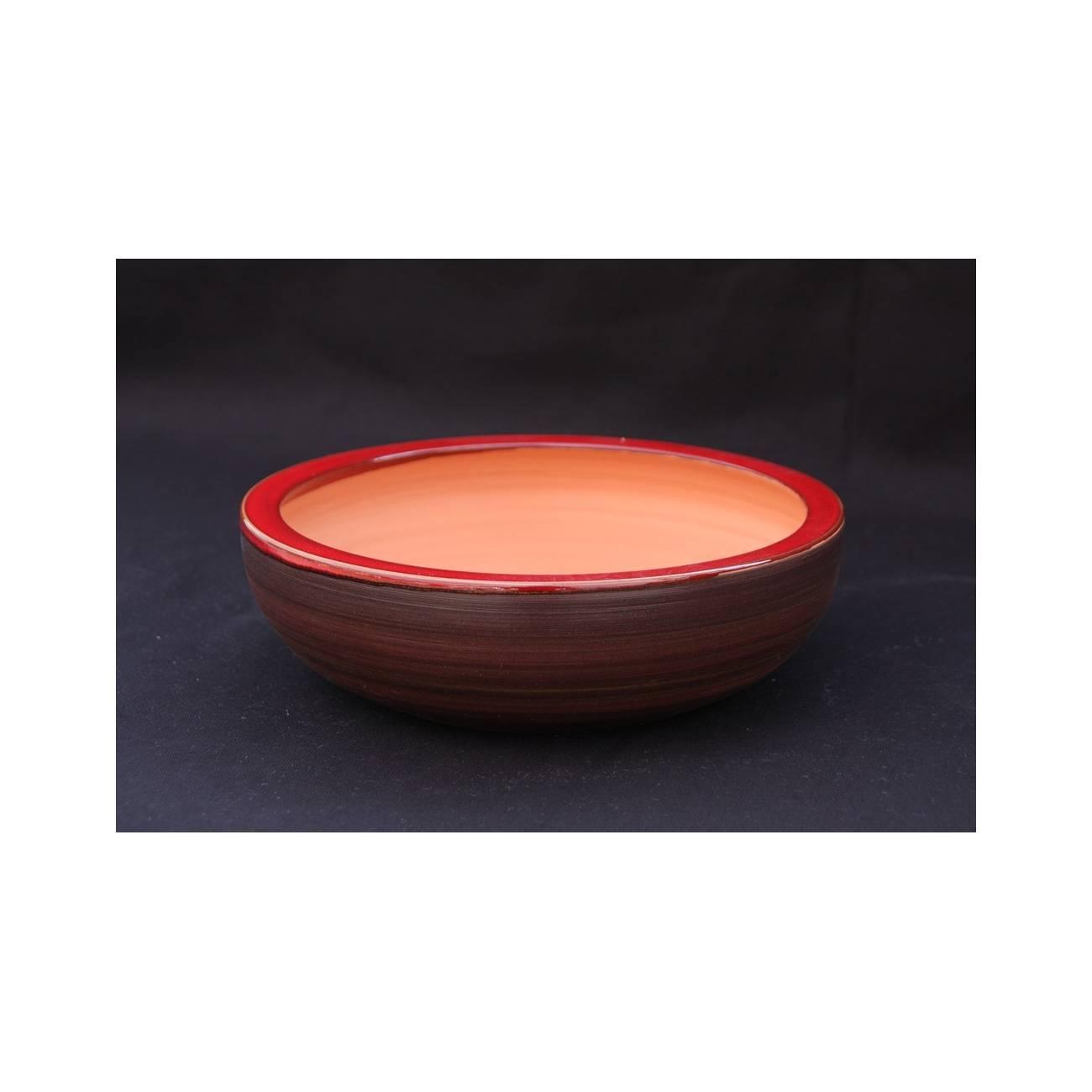 nymphea terre d 39 afrique poterie rouge les poteries d 39 albi. Black Bedroom Furniture Sets. Home Design Ideas