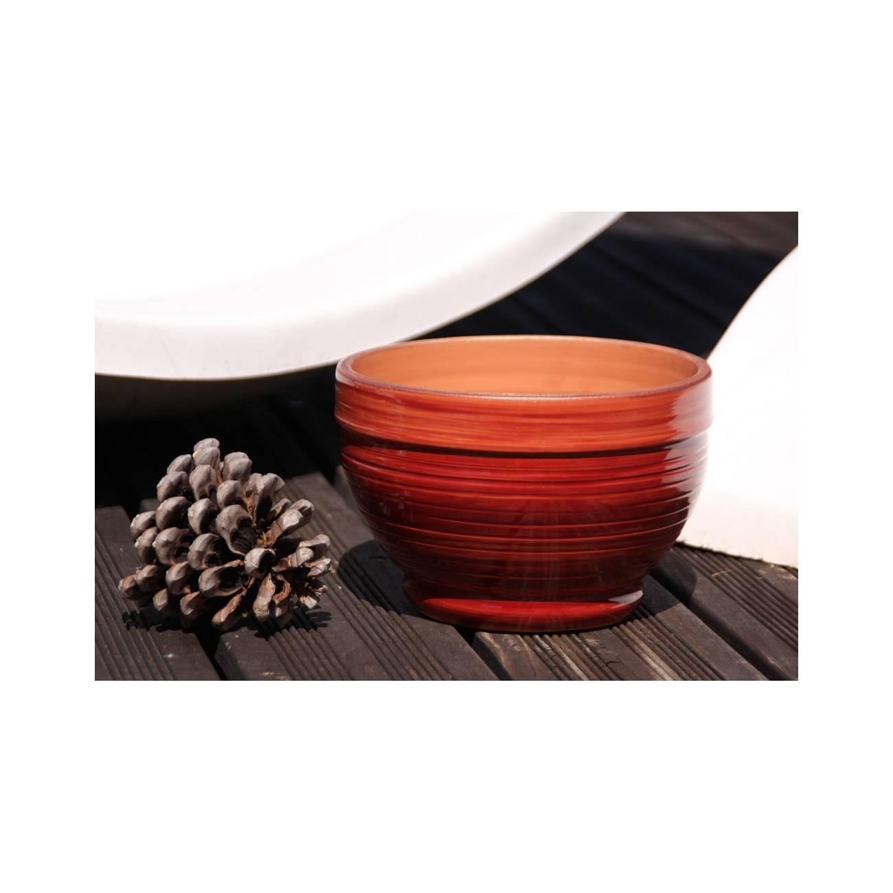 stromboli grenadine vase rouge les poteries d 39 albi. Black Bedroom Furniture Sets. Home Design Ideas