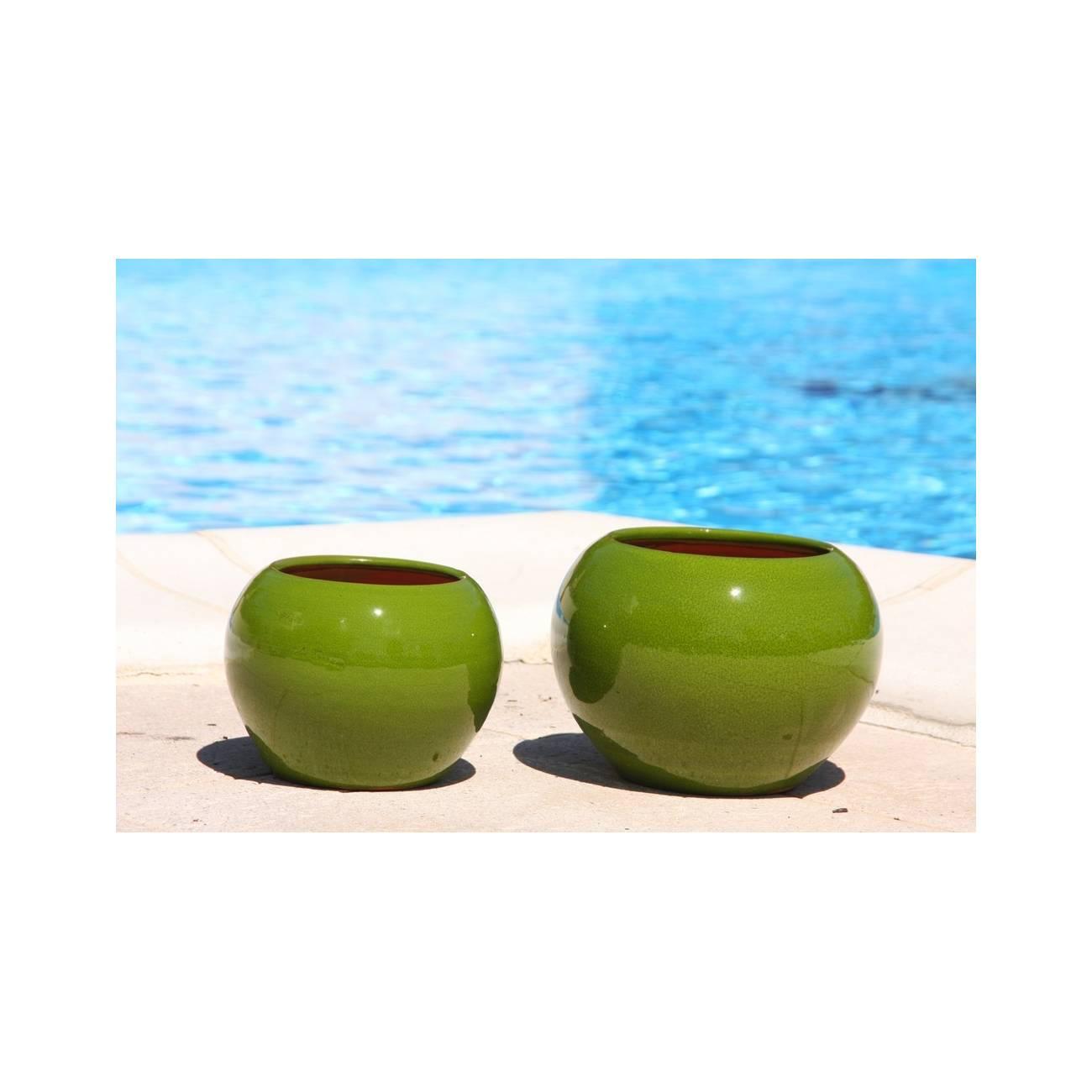 bor al mousse citron c ramique verte les poteries d 39 albi. Black Bedroom Furniture Sets. Home Design Ideas