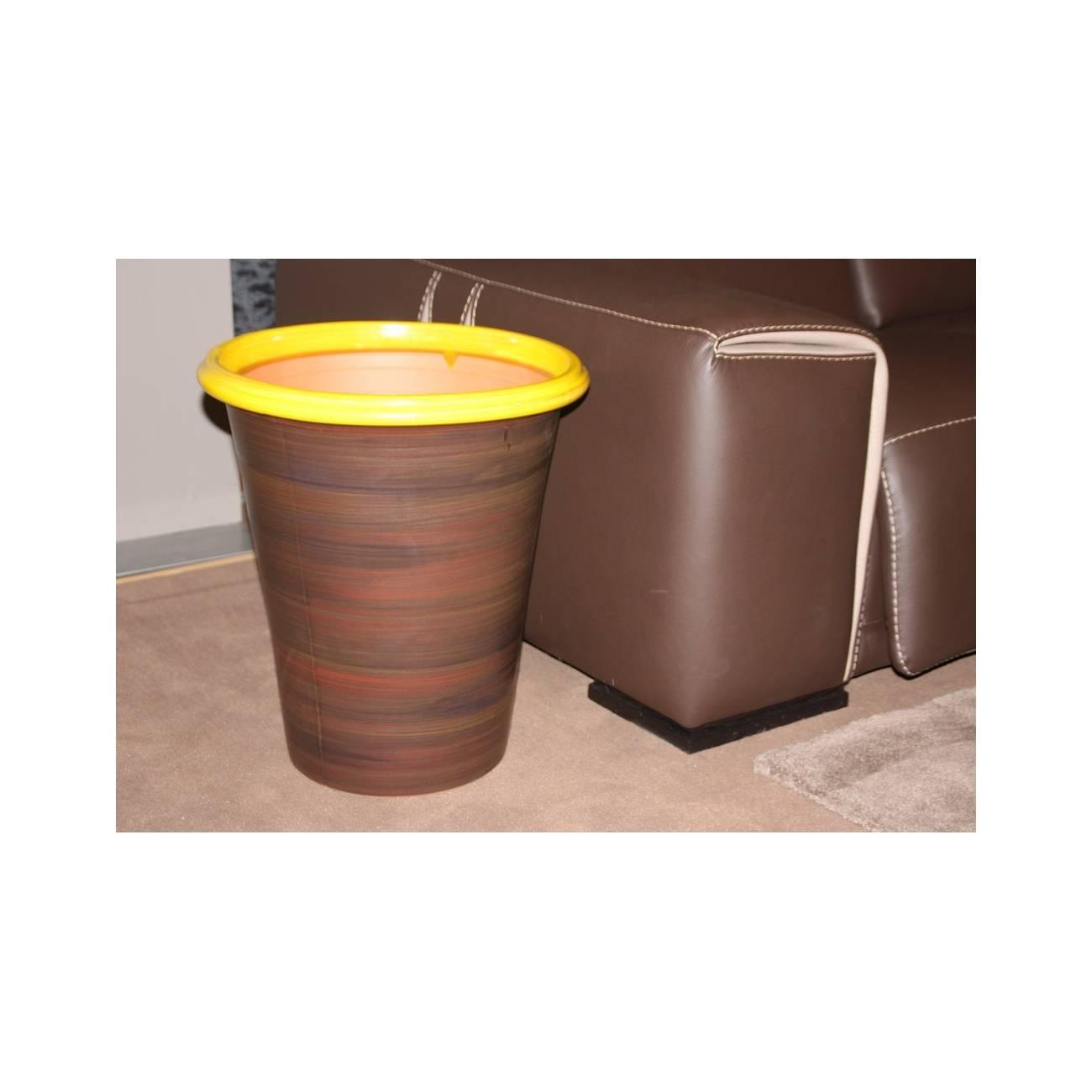 baobab terre de soleil pot jaune les poteries d 39 albi. Black Bedroom Furniture Sets. Home Design Ideas