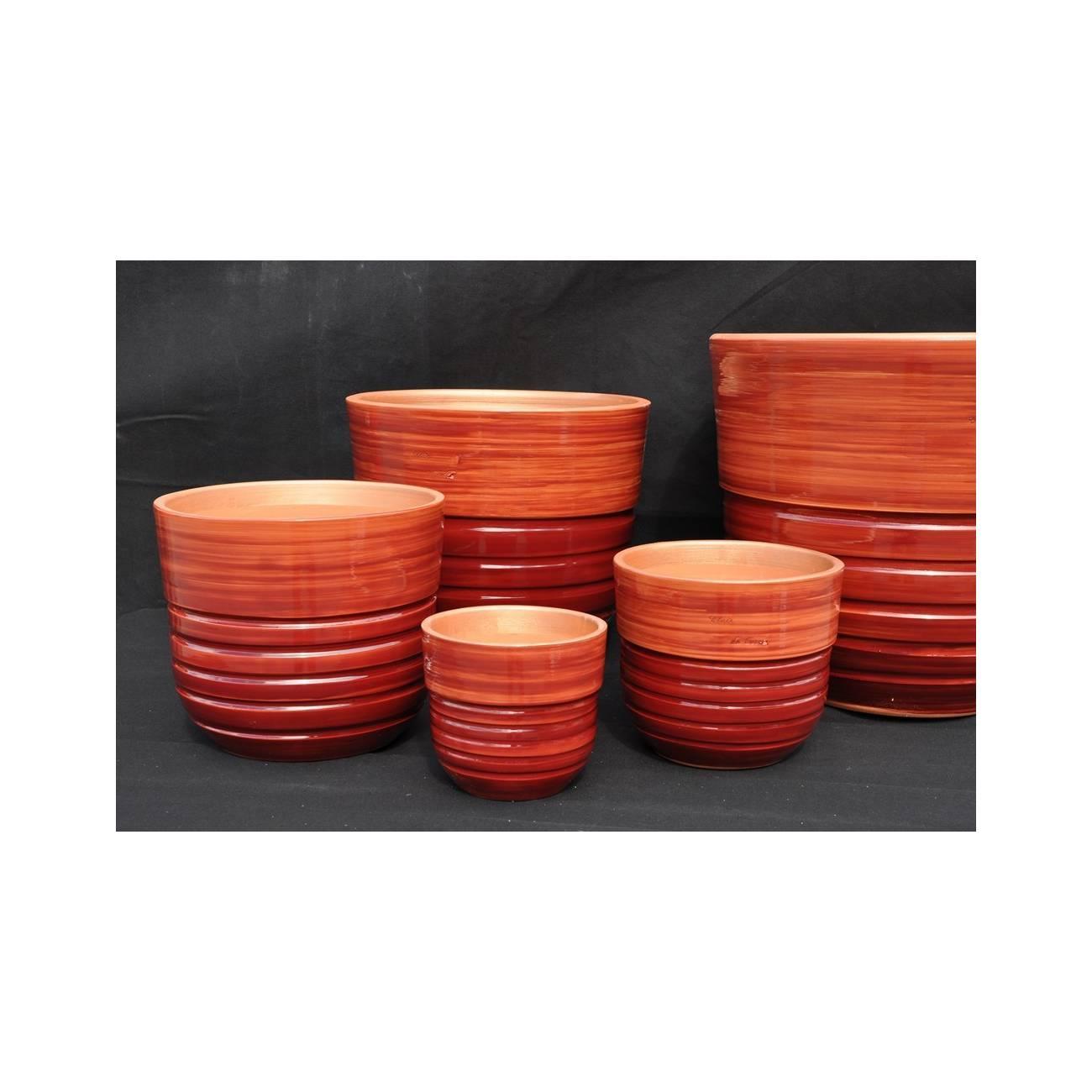 s quoia grenadine poterie rouge les poteries d 39 albi. Black Bedroom Furniture Sets. Home Design Ideas