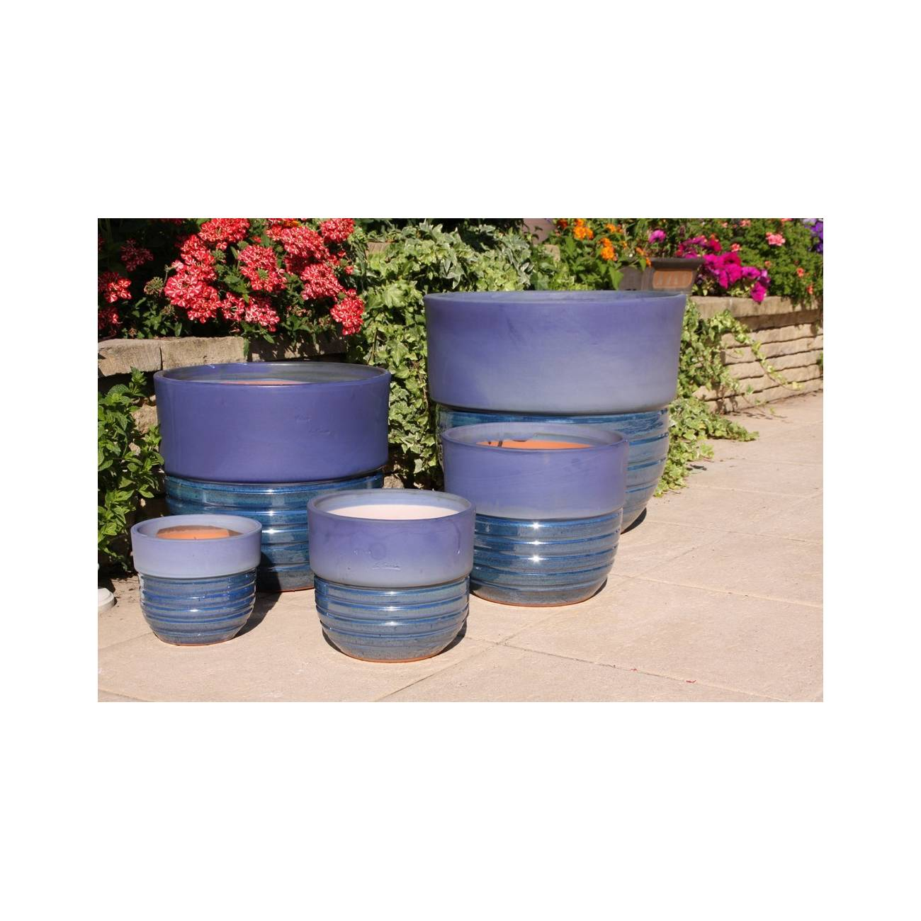 s quoia aigue marine c ramique bleue les poteries d 39 albi. Black Bedroom Furniture Sets. Home Design Ideas