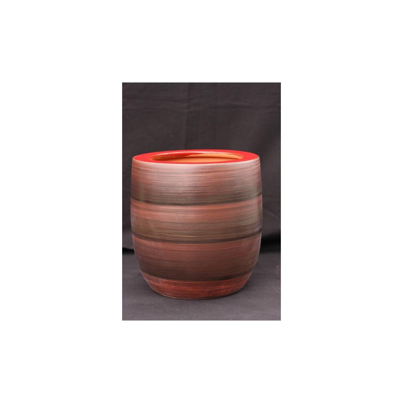 totem terre d 39 afrique vase rouge les poteries d 39 albi. Black Bedroom Furniture Sets. Home Design Ideas
