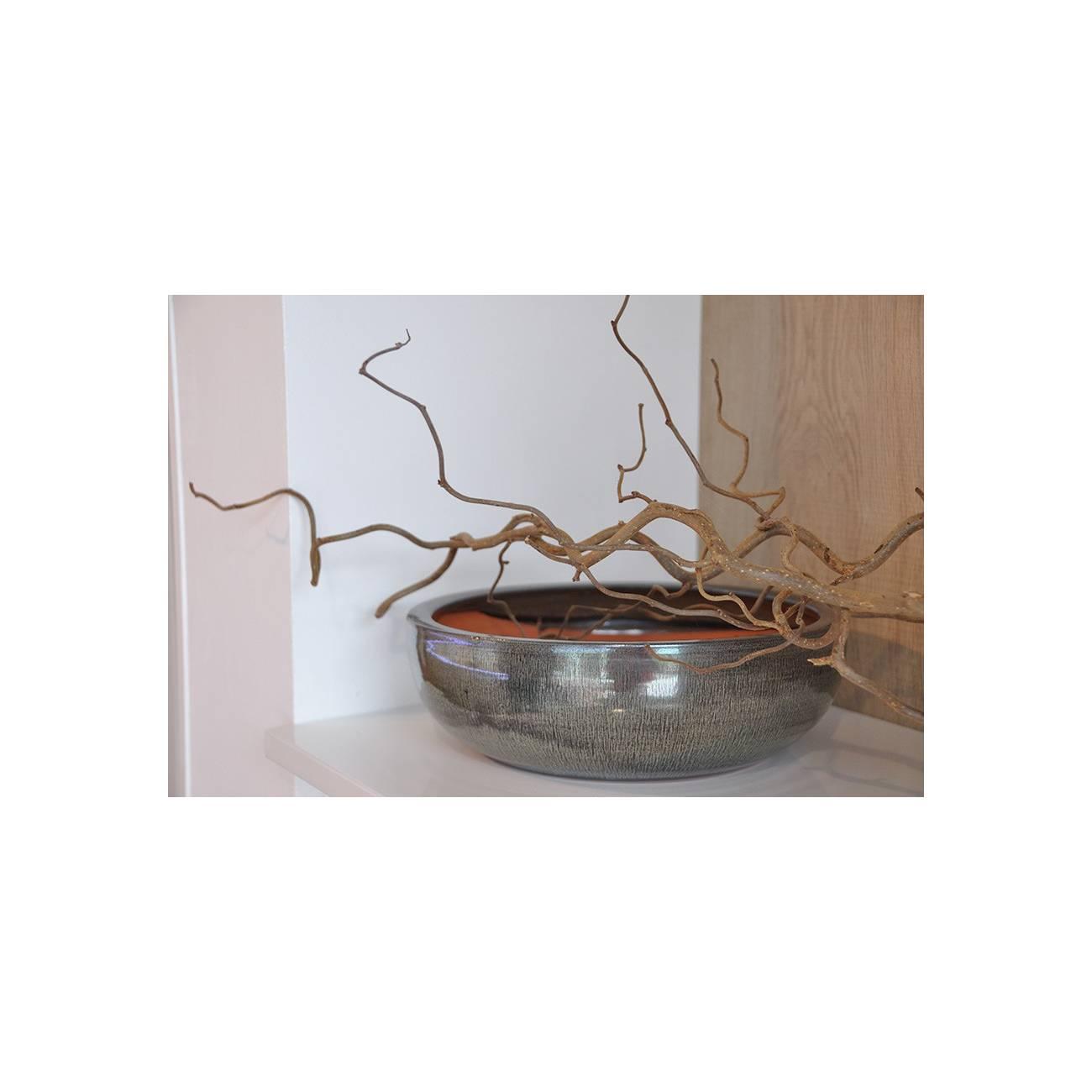 nymphea terre d 39 amazonie c ramique verte les poteries d 39 albi. Black Bedroom Furniture Sets. Home Design Ideas