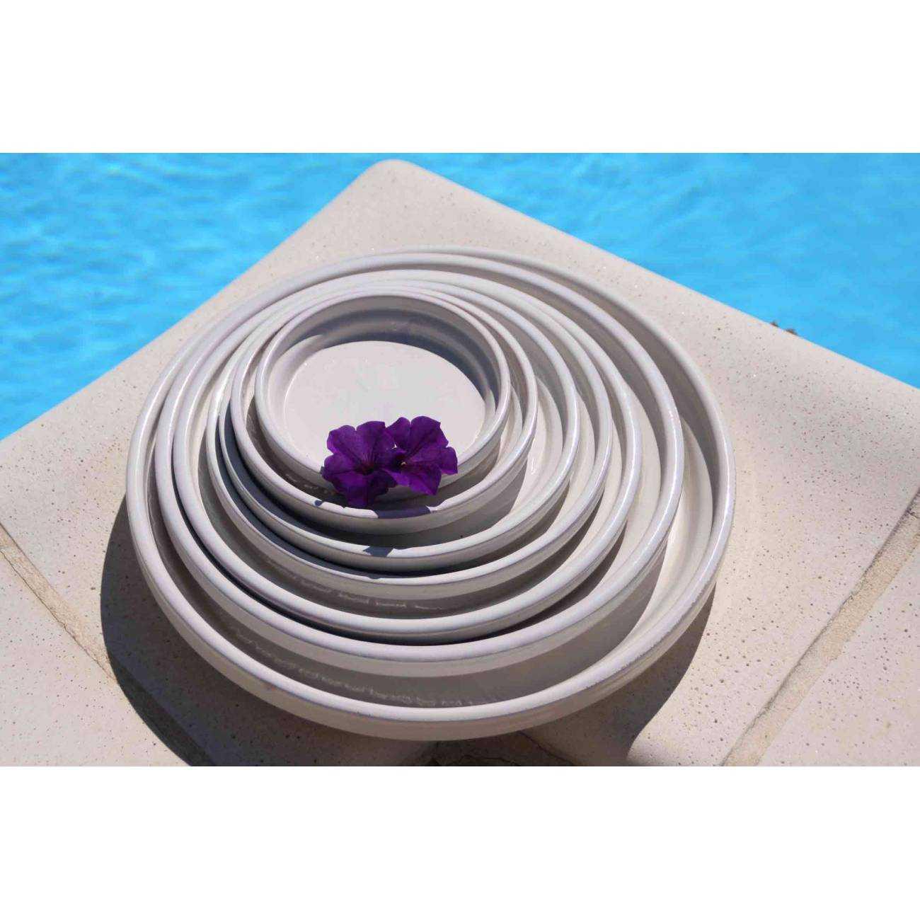 Pot design et objet d co orion collection voile de nacre for Yuka plante exterieur