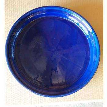 Soucoupe Bleu D33
